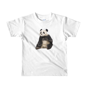 Giant-Panda Print Short sleeve kids t-shirt