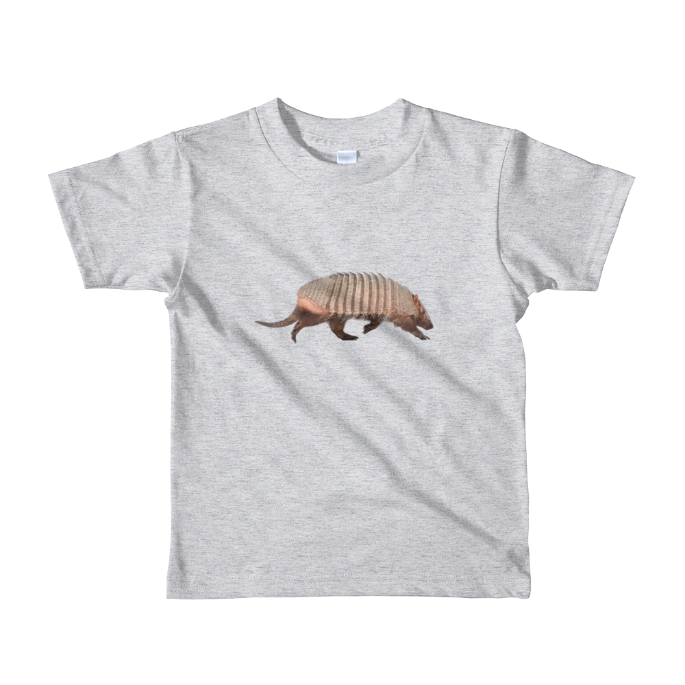 Armadillo Print Short sleeve kids t-shirt