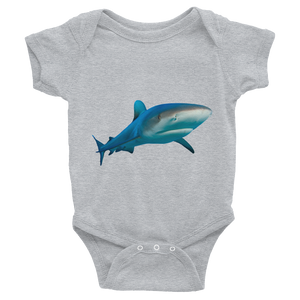 Great-White-Shark Print Infant Bodysuit