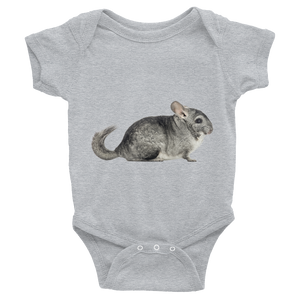 Chinchilla Print Infant Bodysuit
