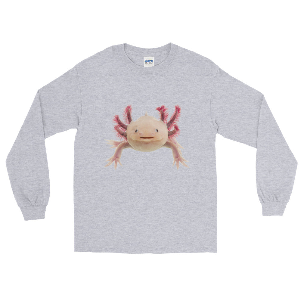 Axolotle Print Long Sleeve T-Shirt