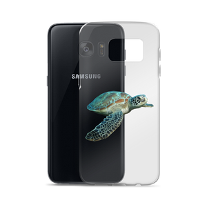 Sea-Turtle Print Samsung Case