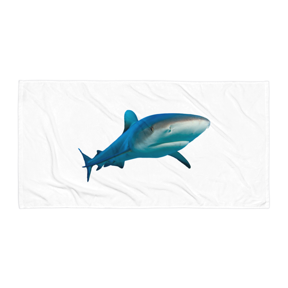 Great-White-Shark Towel