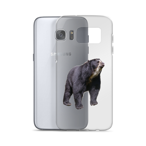 Specticaled-Bear Print Samsung Case