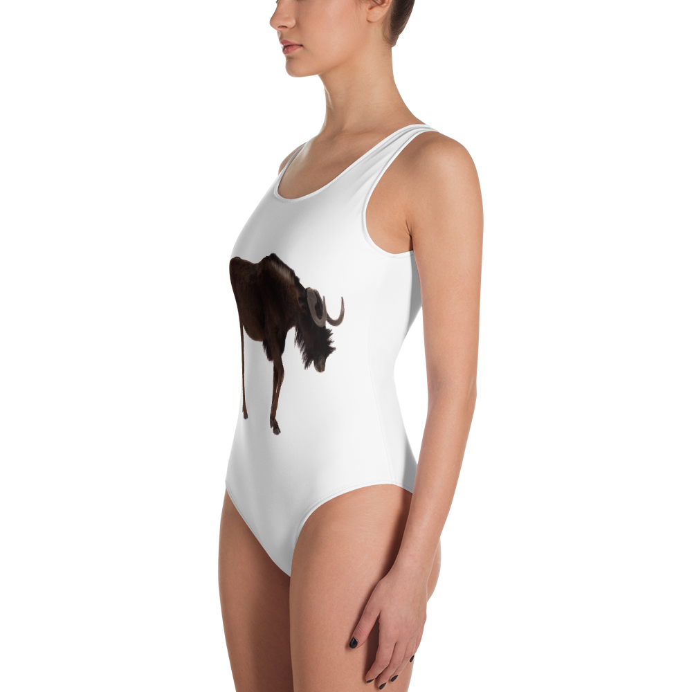 Wilderbeast Print One-Piece Swimsuit