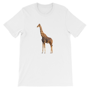 Giraffe Short-Sleeve Unisex T-Shirt