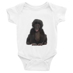 Bonobo Print Infant Bodysuit