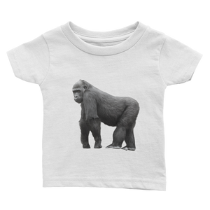 Gorilla Print Infant Tee