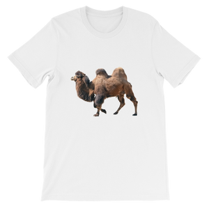 Bactrian-Camel Short-Sleeve Unisex T-Shirt