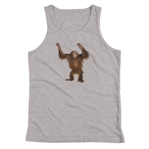 Orang-utan- Print Youth Tank Top