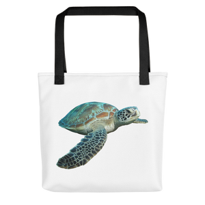 Sea-Turtle Print Tote bag