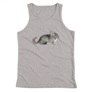 Chinchilla Print Youth Tank Top