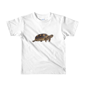 Tortoise Print Short sleeve kids t-shirt