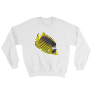 Butterfly-Fish Print Sweatshirt