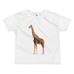 Giraffe Print All-over kids sublimation T-shirt
