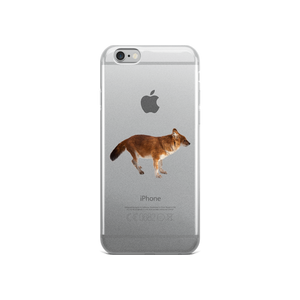 Dhole Print iPhone Case