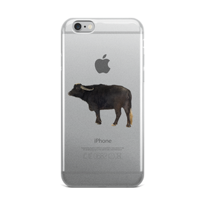 Water-Buffalo Print iPhone Case