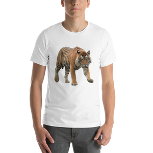 Bengal Tiger Print Short-Sleeve Unisex T-Shirt