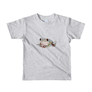 Tarsier-Frog Print Short sleeve kids t-shirt