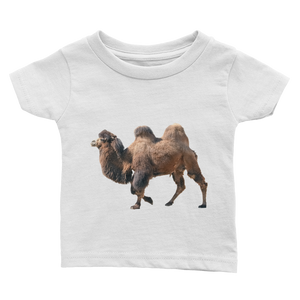 Bactrian-Camel Print Infant Tee
