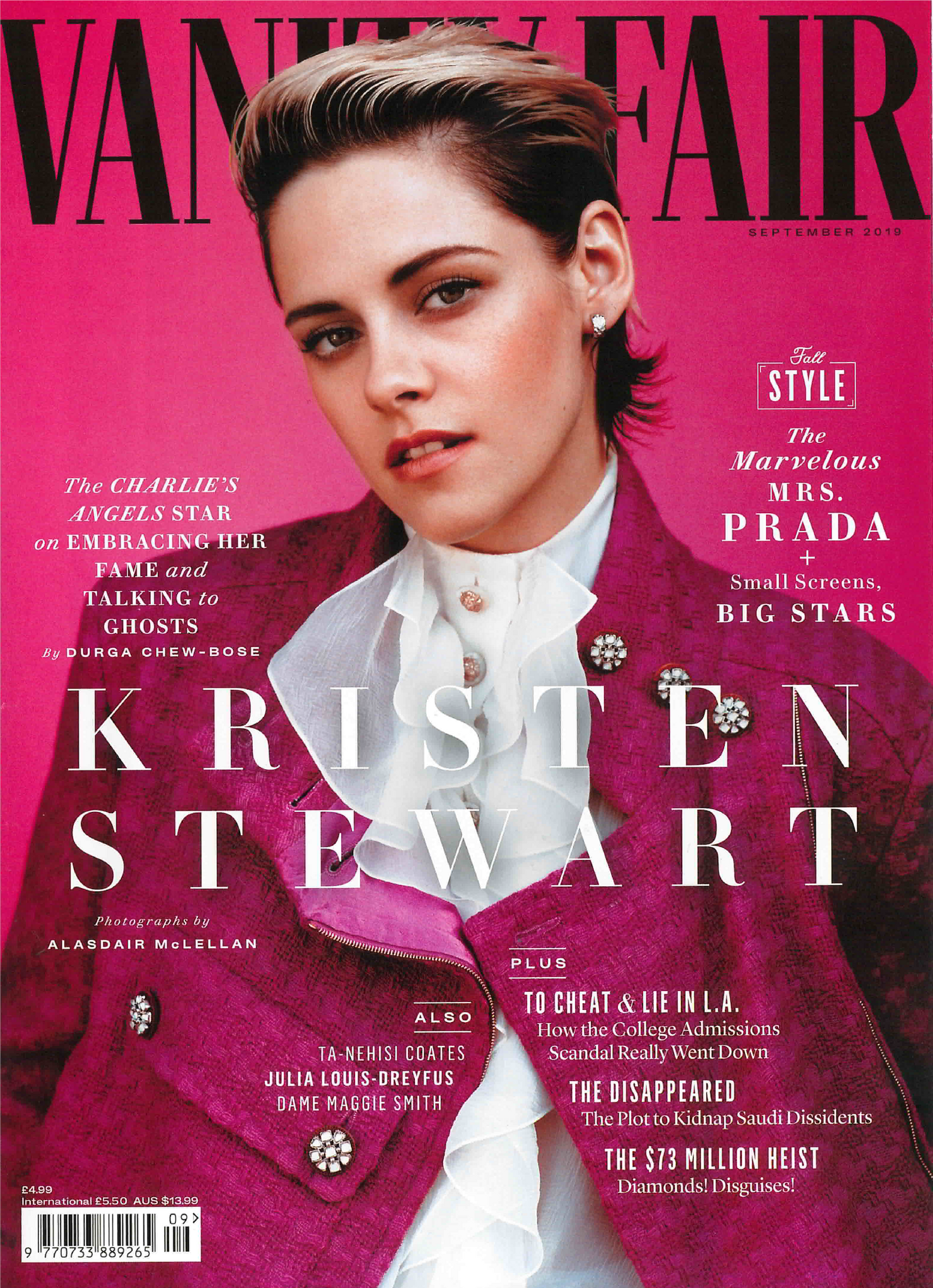 Terry Schiefer in VANITY FAIR Magazine September 2019