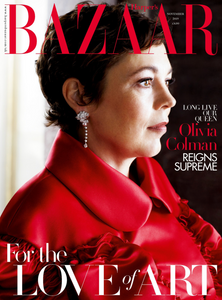 Terry Schiefer in Harpers Bazaar Magazine November 2019