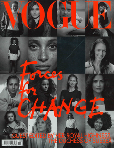 Terry Schiefer in BRITISH VOGUE Magazine September 2019