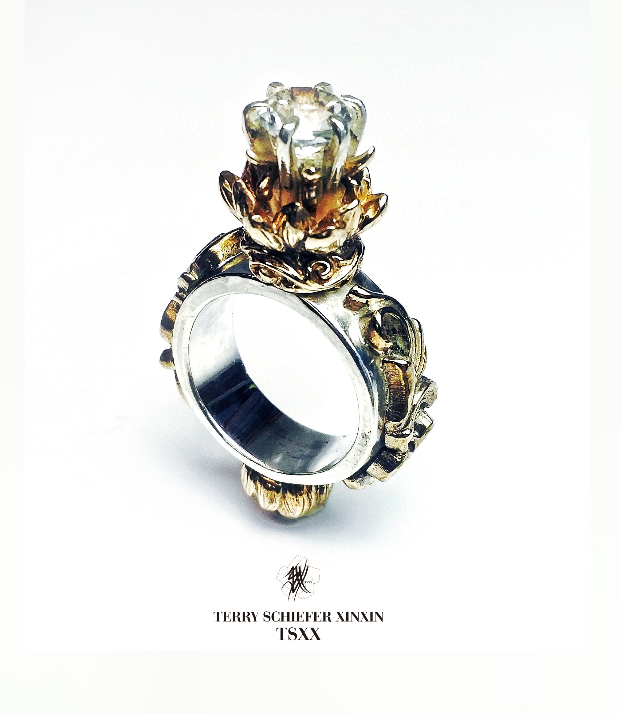 King Lotus Blossom Ring - Terry Schiefer