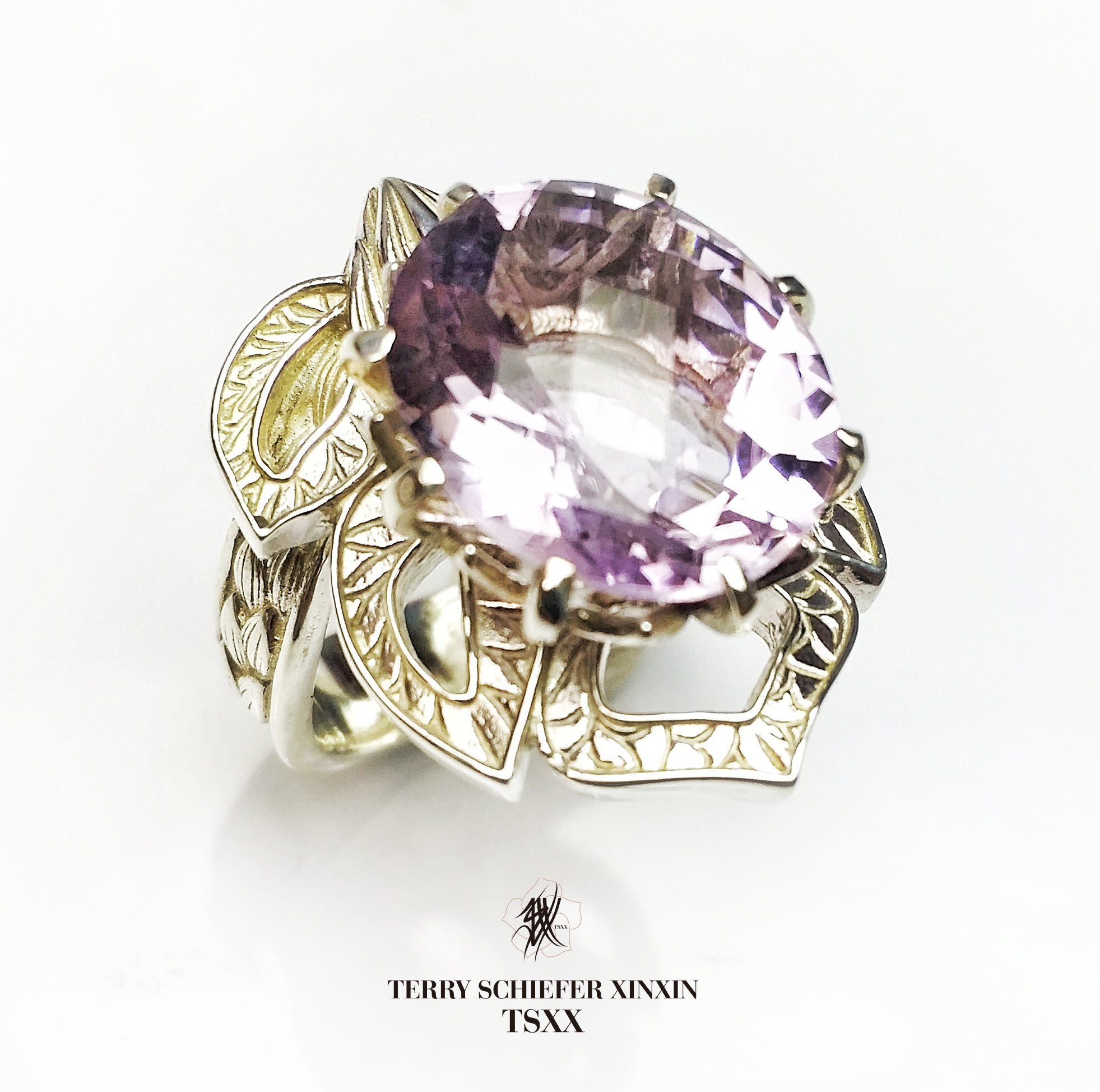 Lotus Motif Ring - Terry Schiefer