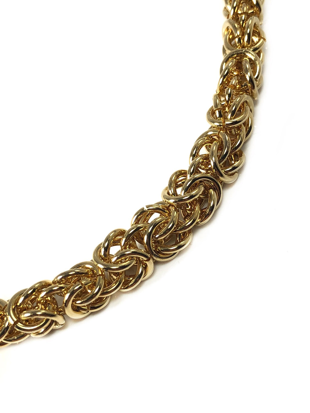 Bronze Handwoven Byzantine Chain - Terry Schiefer