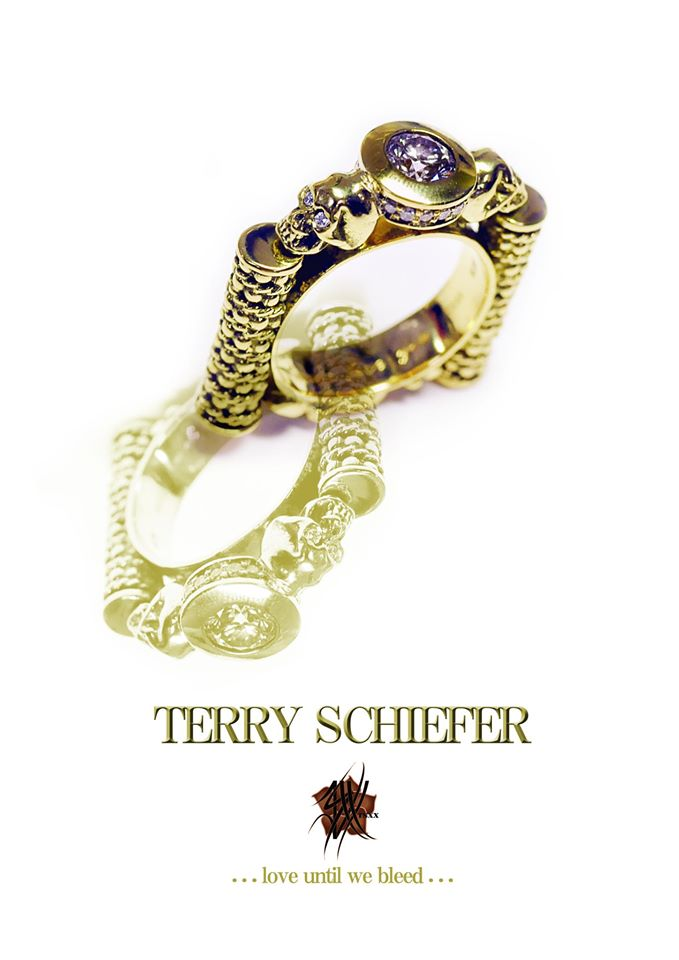Love Until We Bleed Ring - Terry Schiefer
