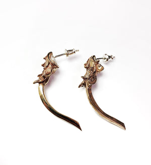 Zeus Earrings - Terry Schiefer