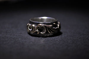 Scroll Ring - Terry Schiefer