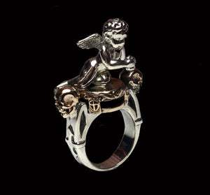 Cupid Pedestal Ring - Terry Schiefer