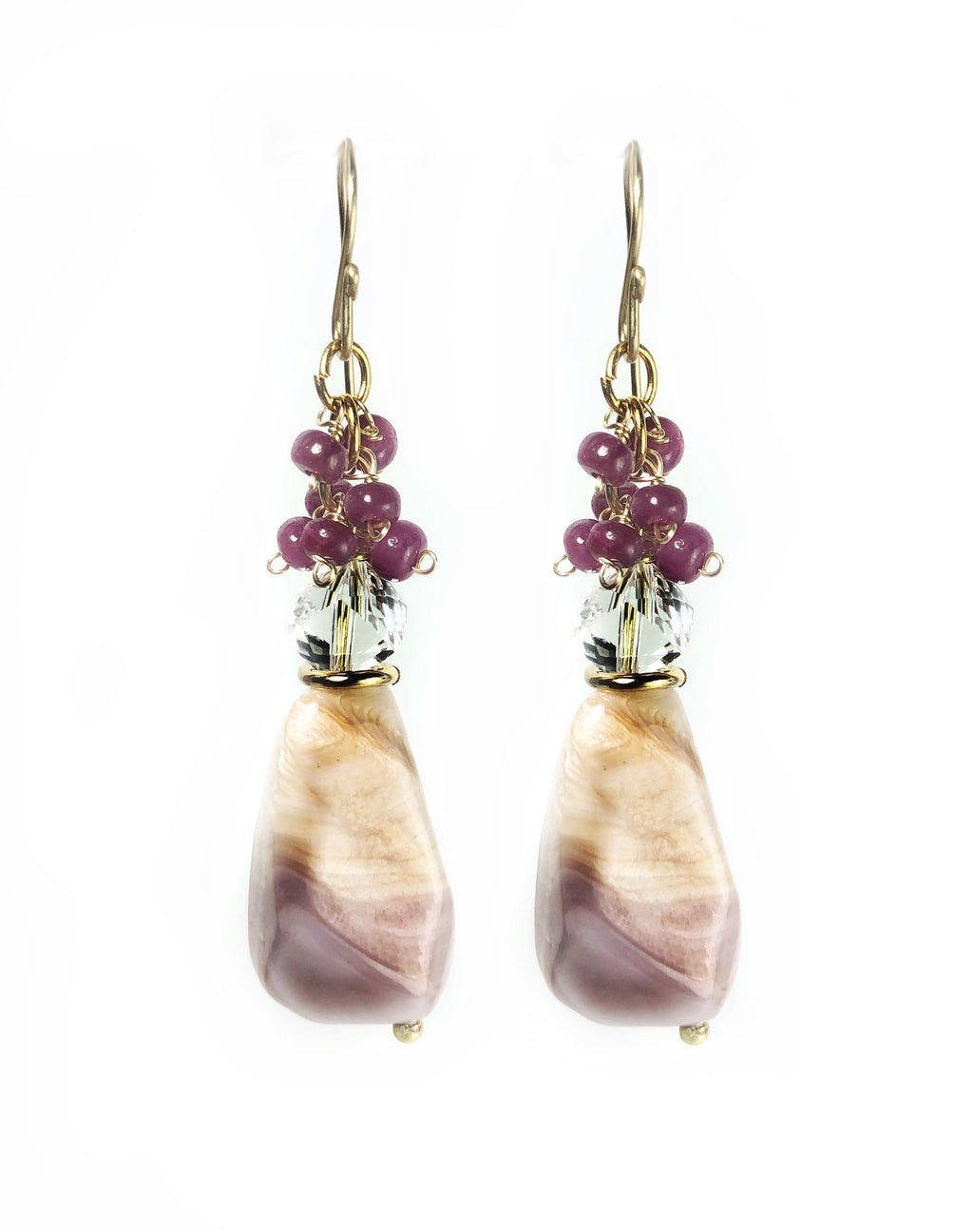 Mississippi Delta Pink Earrings - Terry Schiefer