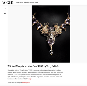 Michael Marquis Necklace - Terry Schiefer