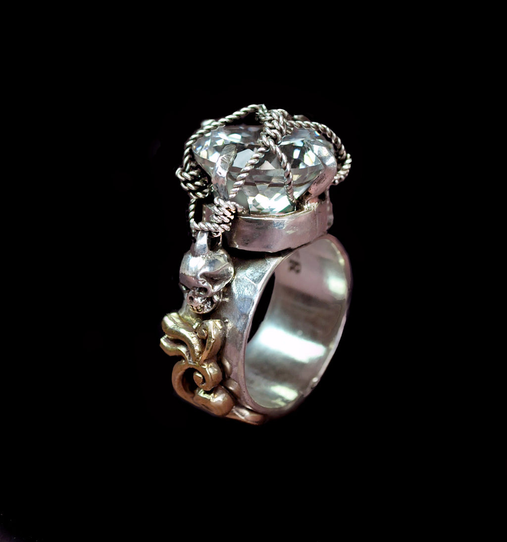 Classic Memento Mori Ring - Terry Schiefer