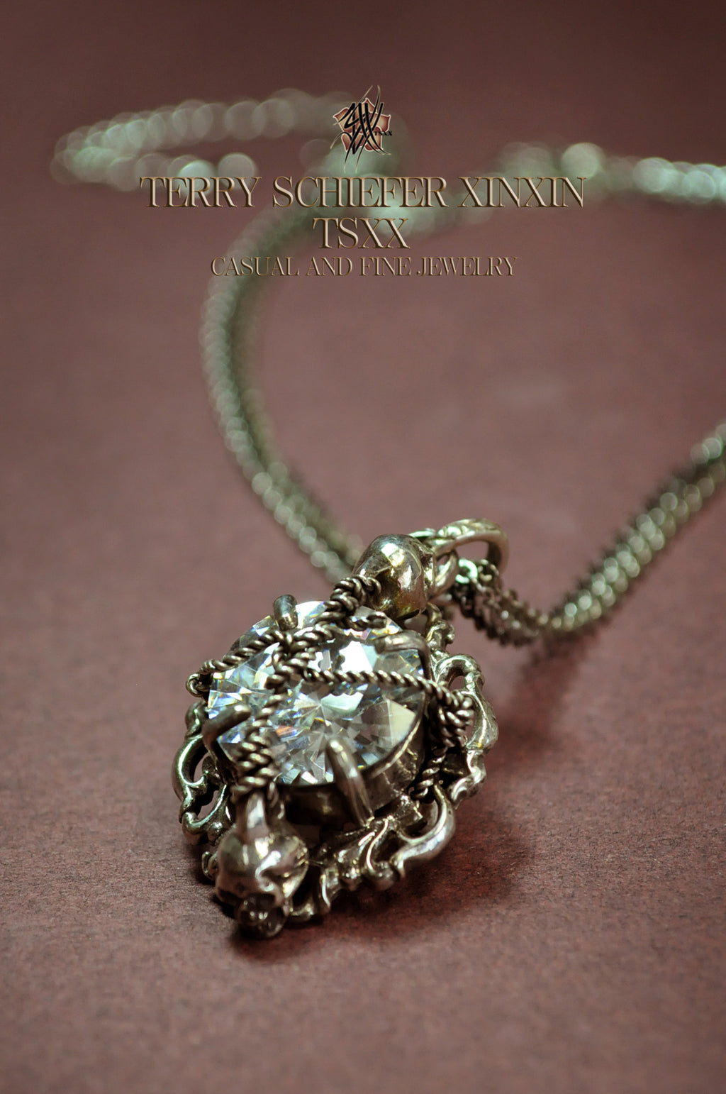 Memento Mori Necklace | Terry Schiefer