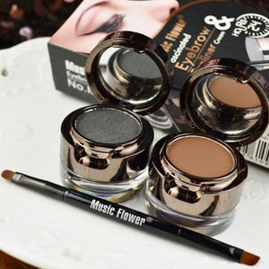 4 in 1 Eye Brow Eyebrow Powder Eyeliner Eye liner