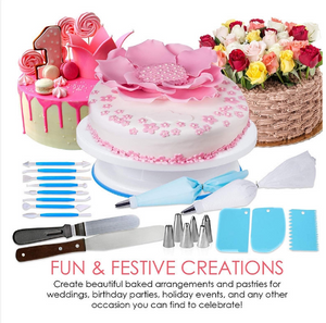207pcs New Release Cake Decorating Baking Set