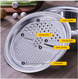 3 pcs Multifunctional Stainless Steel Sink Basin