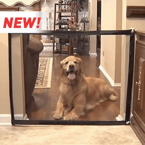 Magic Portable Dog Gate, Safe Guard for Pets, Indoor Pet Barrier