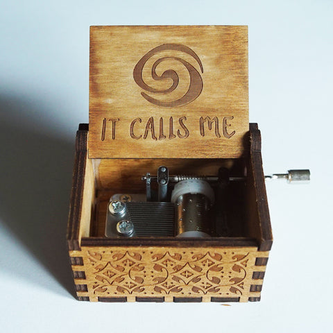 "Moana ""It Calls Me"" Handmade Wooden Music Box"