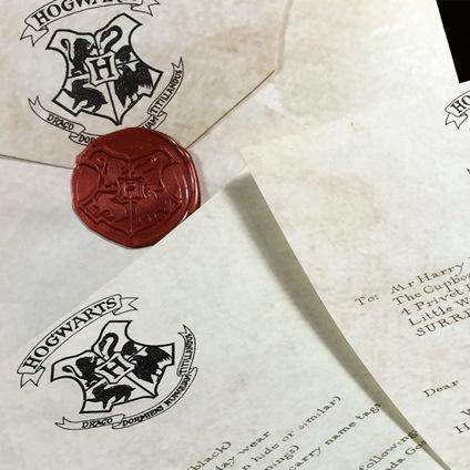 Harry Potter Hogwarts Acceptance Letter Package