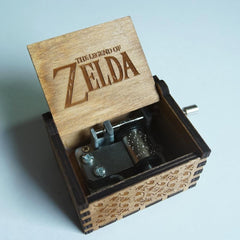 """The Legend of Zelda"" Handmade Wooden Music Box"
