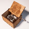 Image of Jack Sparrow Theme Song Handmade Wooden Music Box