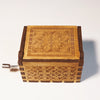 "Image of ""Amélie"" Theme Song Handmade Wooden Music Box"