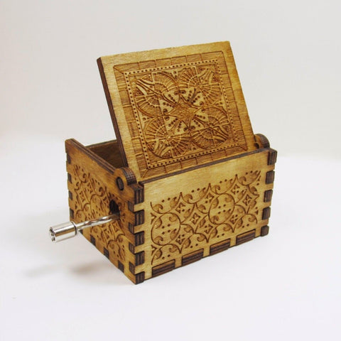 Harry Potter Handmade Wooden Music Box