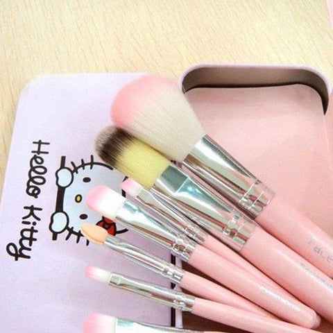 Hello Kitty Make Up Brush Set
