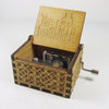 Image of The Godfather Theme Song Handmade Wooden Music Box